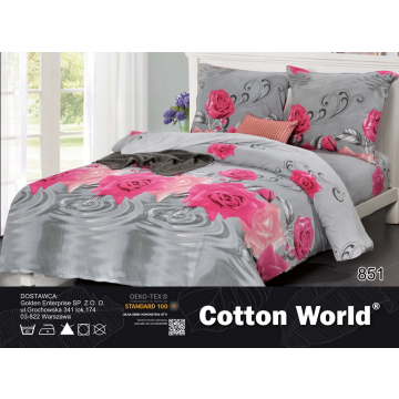 Pościel 3D Miś - Cotton World - SHY-5103 - 220x200 cm - 3 cz