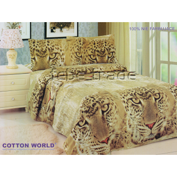 Pościel 3D - Cotton World - FSP-354 - 220x200 cm - 4 cz