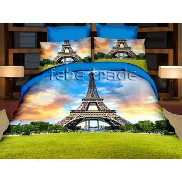 Pościel 3D - Cotton World - FSH-512 - 220x200 cm - 3cz